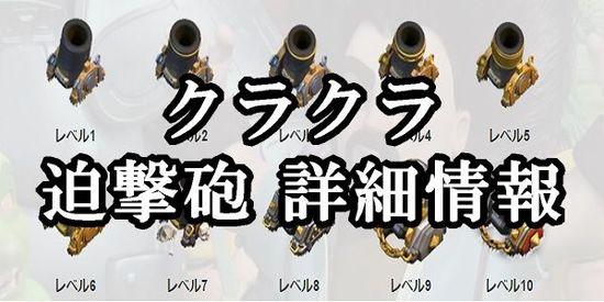 迫撃砲の詳細情報