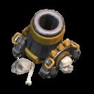 レベル7の迫撃砲
